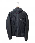 HAGLOFS(ホグロフス)の古着「中綿ジャケット」|ブラック
