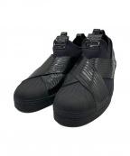 adidas Originals(アディダスオリジナル)の古着「スリッポン」|ブラック