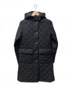 MACKINTOSH(マッキントッシュ)の古着「キルティングコート」|ブラック