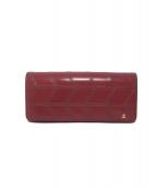 LANVIN COLLECTION(ランバン コレクション)の古着「長財布」|レッド