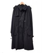 SEALUP(シーラップ)の古着「トレンチコート」 ブラック