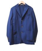 Lubiam(ルビアム)の古着「3ボタンジャケット」|ブルー
