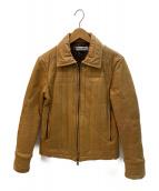 MR.OLIVE(ミスターオリーブ)の古着「レザージャケット」 ブラウン