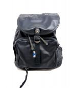 LUGGAGE LABEL(ラゲッジ レーベル)の古着「バックパック」 ブラック