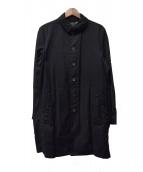 DIESEL BLACK GOLD(ディーゼル ブラック ゴールド)の古着「ステンカラーコート」|ブラック