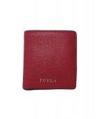 FURLA(フルラ)の古着「コンパクトウォレット」|レッド