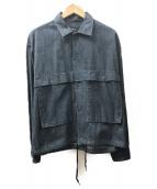 VAINL ARCHIVE(バイナルアーカイブ)の古着「デニムコーチジャケット」|インディゴ