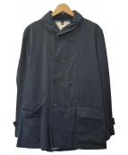VAINL ARCHIVE(バイナルアーカイブ)の古着「バックプリントジャケット」|ネイビー