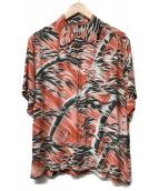 SUN SURF(サンサーフ)の古着「アロハシャツ」 レッド