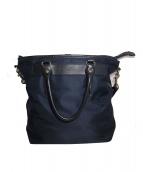GANZO(ガンゾ)の古着「ビジネスバッグ」|ネイビー×ブラック