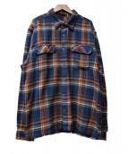 Patagonia(パタゴニア)の古着「フィヨルドフランネルシャツ」