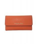 MICHAEL KORS(マイケルコース)の古着「長財布」|オレンジ