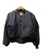Buzz Ricksons(バズリクソンズ)の古着「B-15C フライトジャケット」|ネイビー