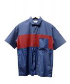 TOMORROW LAND tricot(トゥモローランド トリコ)の古着「半袖シャツ」|ネイビー