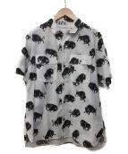 WHITE MOUNTAINEERING(ホワイトマウンテニアリング)の古着「オープンカラーシャツ」|ホワイト