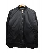 VAINL ARCHIVE(バイナルアーカイブ)の古着「MA-1ジャケット」|ネイビー