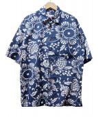 KAHALA(カハラ)の古着「アロハシャツ」|ネイビー