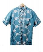 reyn spooner(レイン スプナー)の古着「90s プルオーバーアロハシャツ」|グリーン