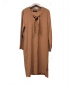 Demi-Luxe BEAMS(デミルクス ビームス)の古着「天竺ワンピース」|ベージュ