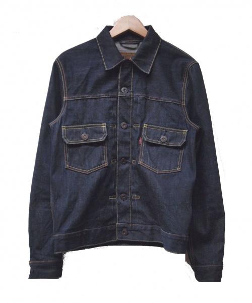 LEVIS(リーバイス)LEVIS (リーバイス) 2ndデニムジャケット ネイビー サイズ:S 秋物の古着・服飾アイテム