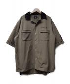 FULL-BK(フルビーケー)の古着「ボーリングシャツ」|ベージュ