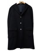 TAGLIATORE(タリアトーレ)の古着「チェスターコート」|ブラック