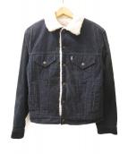 LEVI'S(リーバイス)の古着「70sコーデュロイボアジャケット」|ネイビー