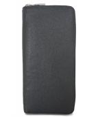 LOUIS VUITTON(ルイ・ヴィトン)の古着「ジッピーウォレット・ヴェルティカル ノワール」|ブラック