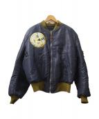 Buzz Ricksons(バズリクソンズ)の古着「MA-1ジャケット」|ネイビー