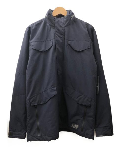 NEW BALANCE(ニュー・バランス)NEW BALANCE (ニュー・バランス) リュクスティクM65ジャケット ネイビー サイズ:S 未使用品の古着・服飾アイテム