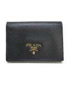 PRADA(プラダ)の古着「カードケース」 ブラック