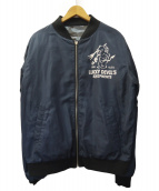 TED COMPANY(テッドカンパニー)の古着「MA-1風ジャケット」|ネイビー