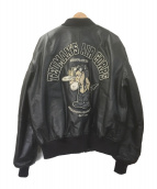 TED COMPANY(テッドカンパニー)の古着「MA-1ジャケット」|ブラック