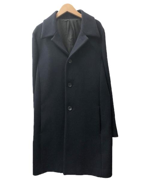 KURO(クロ)KURO (クロ) ステンカラーコート ネイビー サイズ:1 秋冬物の古着・服飾アイテム
