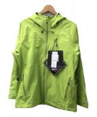 MAMMUT(マムート)の古着「オールウェザージャケット」 ライトグリーン