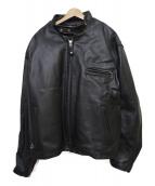 Schott(ショット)の古着「シングルレザージャケット」|ブラック