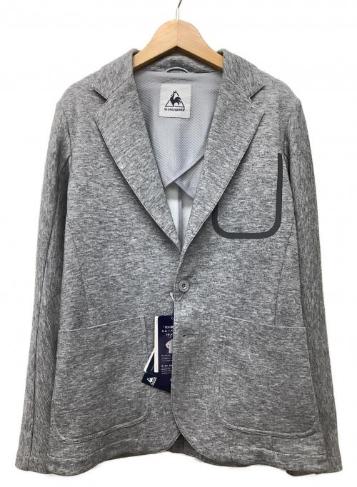 le coq sportif(ルコックスポルティフ)le coq sportif (ルコック・スポルティフ) テーラードジャケット グレー サイズ:S 春秋物の古着・服飾アイテム