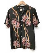 UNITED ARROWS(ユナイテッドアローズ)の古着「アロハシャツ」|ブラック
