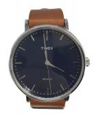 TIMEX(タイメックス)の古着「腕時計」|ネイビー
