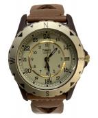 TIMEX(タイメックス)の古着「腕時計」 アイボリー