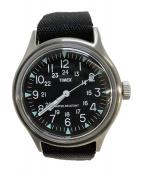 TIMEX(タイメックス)の古着「腕時計」 ブラック