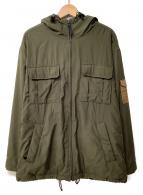 POLO JEANS CO.(ポロジーンズ)の古着「コート」 オリーブ