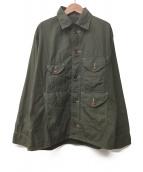 POST OALLS(ポストオーバーオールズ)の古着「M65ジャケット」 オリーブ