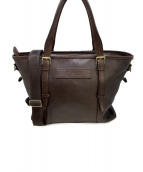 GANZO(ガンゾ)の古着「レザートートバッグ」|ブラウン