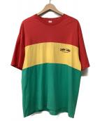 Chah Chah(チャーチャー)の古着「マルチカラーTシャツ」