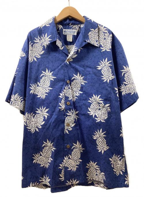 KILAUEA(キラウエラ)KILAUEA (キラウエラ) アロハシャツ ブルー サイズ:Lの古着・服飾アイテム