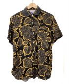 JUNYA WATANABE MAN(ジュンヤワタナベ マン)の古着「レーヨンプリントシャツ」|ブラック