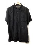 WHITE MOUNTAINEERING(ホワイトマウンテニアリング)の古着「半袖シャツ」|ブラック