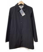 le coq sportif(ルコック・スポルティフ)の古着「ステンカラーコート」|ネイビー