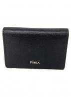 FURLA(フルラ)の古着「バビロンビジネスカードケース」|ブラック